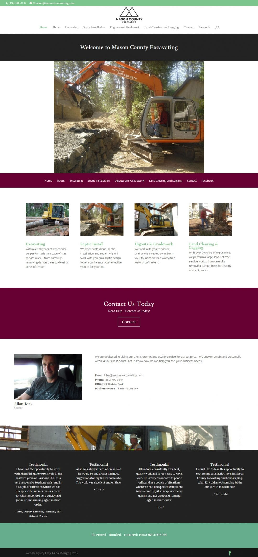 Mason County Excavating